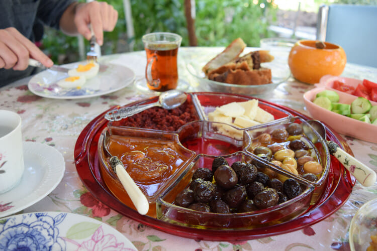 eating well in turkey