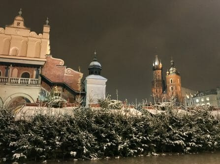 krakow winter