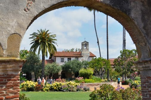 california missions list