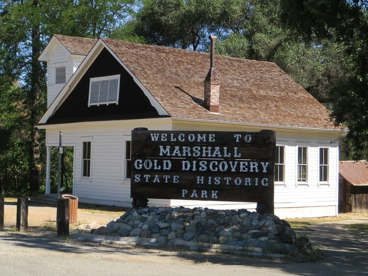 marshall gold discovery state park