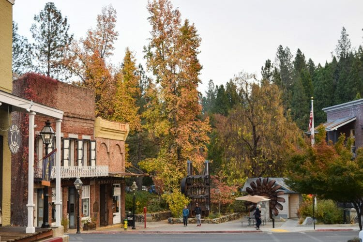 nevada city california