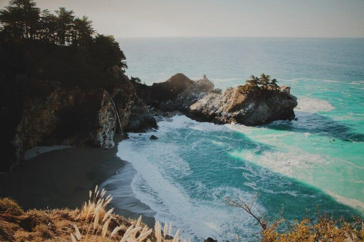 mcways falls big sur california