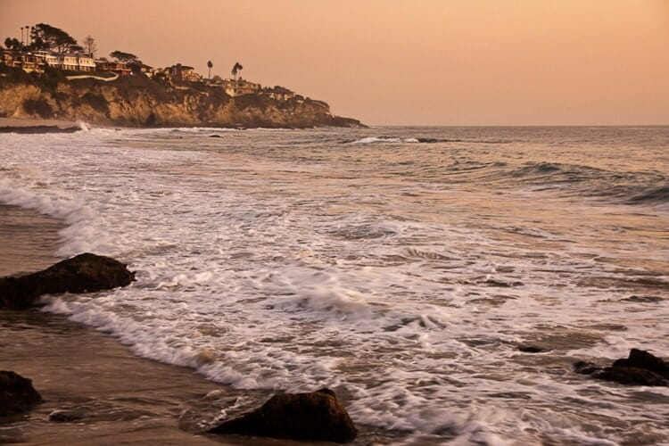 thousand steps beach laguna california