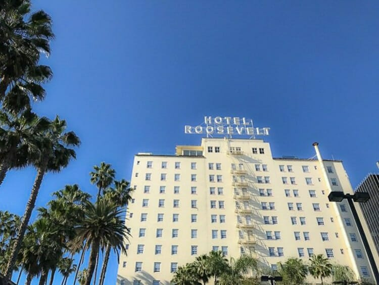 hotel roosevelt los angeles california