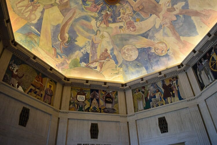 mural griffith observatory