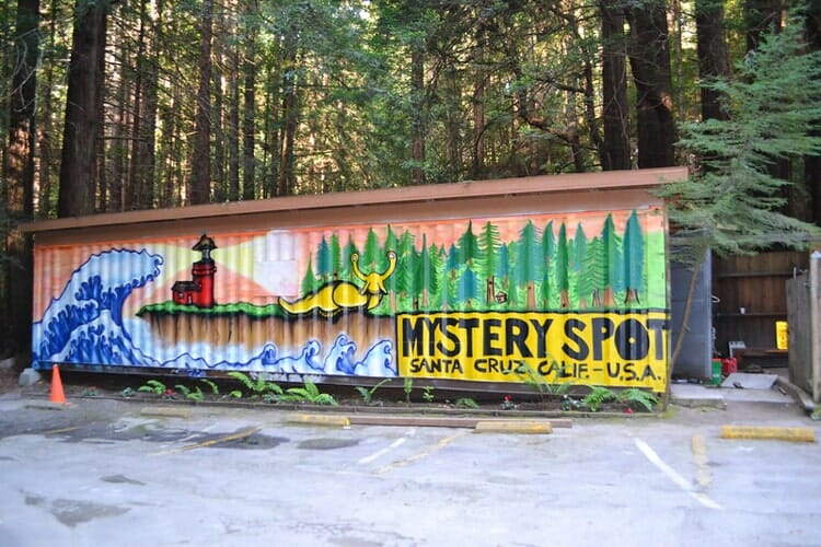 mystery spot santa cruz california