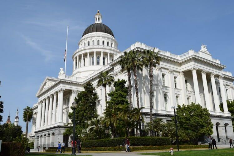 capitol building sacramento california