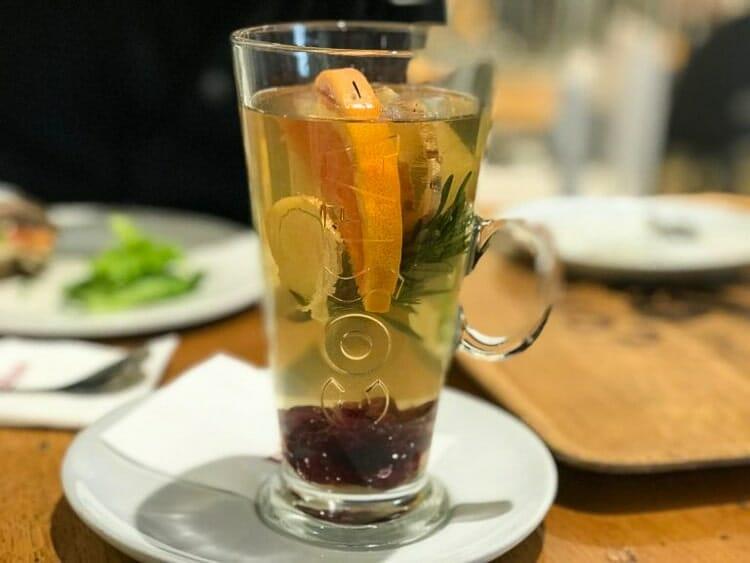 tea cafe krakow winter