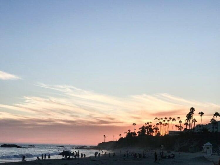 laguna beach california fall