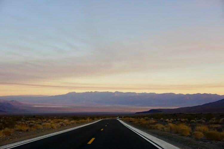 death valley california fall