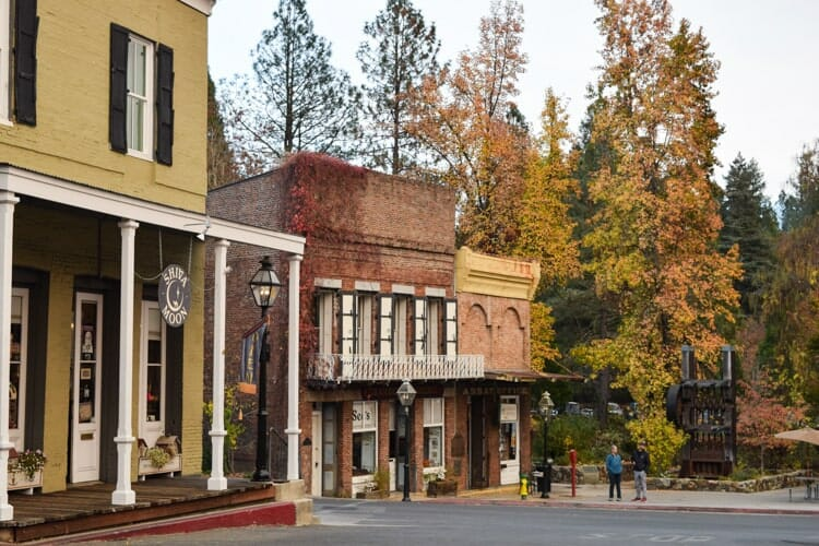 fall destinations in california