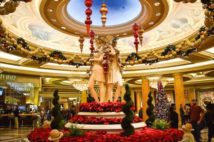 caesars palace christmas las vegas