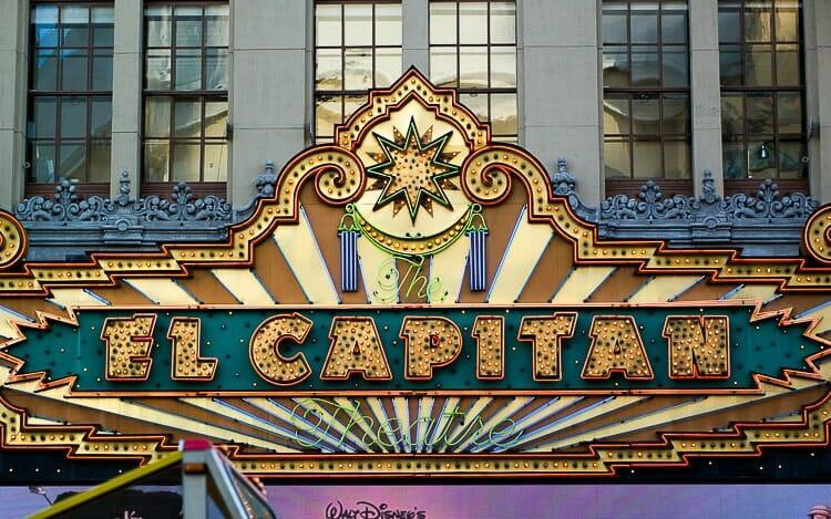 el capitan theater los angeles