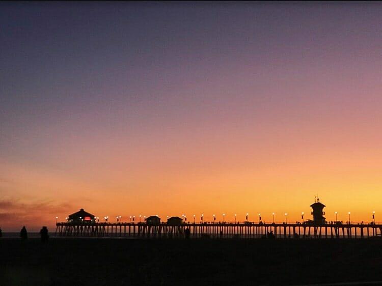 huntington beach pier california