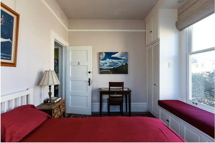 noe valley victorian house bedroom san francisco