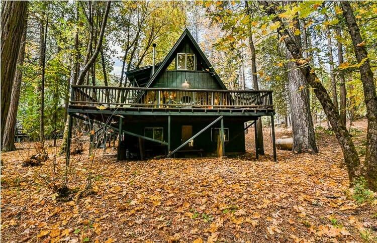 a frame cabin twain harte woods