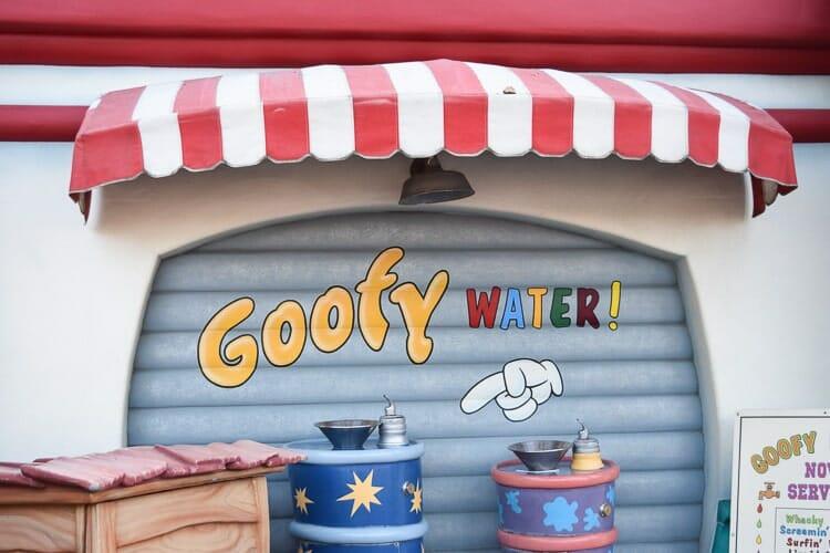 goofy water toontown